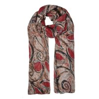 Wholesale fashion women scarf simple light rendering winter warm scarves close to skin large Irregular geometry SF881