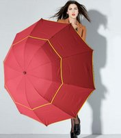 şemsiye büyük toptan satış-Sıcak 130 cm Büyük En Kaliteli Şemsiye Erkekler Yağmur Kadın Rüzgar Geçirmez Büyük Paraguas Erkek Kadın Güneş 3 Floding Büyük Şemsiye Açık Parapluie