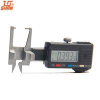 Wholesale Digital Mm Gauges - Wholesale-Digital Diamond GEM Gauge 0-20mm 0.01 Inch MM System Mini Caliper Micrometer Measuring Tools