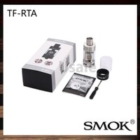 Wholesale G4 Hid - Smok TF-RTA Tank 4.5ml TF-RTA With G4 Deck G2 Deck OFF-Base Hiding Sealing Ring and Innovative Juice Flow Control System 100% Original