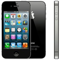 Wholesale Iphone 4s Factory Unlock - Refurbished Apple iPhone 4S 8GB 16GB 32GB White Black Factory Unlock Smartphone 1pc