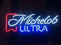 Wholesale Vintage Neon Signs - Brand New Sweet Vintage Michelob Ultra Real Glass Neon Sign Beer light