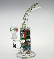 Wholesale News Glass - NEWS SKETCH WATER PIPE DESIGNS SKETCH BONGS ARTS SKETCH DESIGNS ARTS WATER PIPE OUCHKICK BONG RANDOM DESIGH PATTERN SCRAWL ARTS BONG