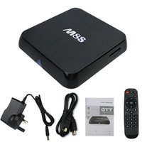 Wholesale Tv Box Google Xbmc - New M8S Android TV Box 2G   8G Dual band 2.4 G   5 G wifi Android 4.4 Amlogic S812 4K XBMC Smart TV Media Player HD better than M8