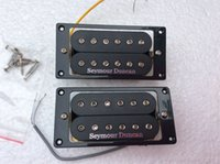 Wholesale Electric Guitar Black - Seymour Duncan Electric Guitar Pickups SH-10 TB-10 Humbucker - Black