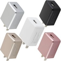 Wholesale universal android tablet charger - V71 Colorful 2.4A Single Usb Port Eu US Ac home wall charger power adapter for iphone 7 8 Samsung s7 s8 note 8 android phone pc tablet