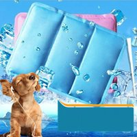 Wholesale Cool Dogs Beds - Cooling Pet Ice Dog Summer Beds Sleeping Mat Ice Heat Dissipation Cooling Pad in Summer PVC Leak-proof