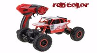 Lynrc RC Car 4WD 2.4GHz Rock Crawlers Rally escalando Carro 4x4 Motores duplos Bigfoot Carro Modelo de controle remoto Modelo Off-Road Vehicle Toy