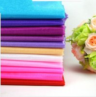 Wholesale Organza Fabric Wholesale Rolls - Wholesale New Hot 50meter Roll Sheer Crystal Organza Fabric For Wedding Decoration Party Supplies Free Shipping