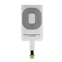 Wholesale Qi Charger Sticker - Hot Selling Qi Wireless Power Charger Receiver Film Wireless Charger Charging Receiver Module Sticker for Apple IPhone 5 5C 5S 6 6Plus