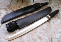 soğuk çelik bıçakları tanto toptan satış-Dayanıklı Soğuk Çelik MASTER TANTO Samuray Survival Sabit bıçak Bıçaklar 440A çelik Kauçuk Kolu açık sruvival Avcılık EDC Bıçak