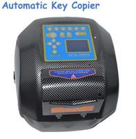 x6 schlüsselschnitt großhandel-2018 dhl freies shiping gute Version Automatische Schlüsselfräsmaschine x6 Schlüsselkopierer v8 x6 Schlüssel Duplikatmaschine für Schlosser