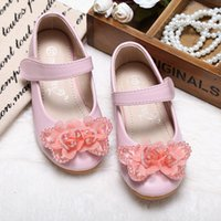 Wholesale China Made Dresses For Sale - 2016 China Made Girl Winter Pink- New Design Children Girls Leather Shoes with Diamends Rhinestones for Kids Princess Lovely Dress Hot Sales