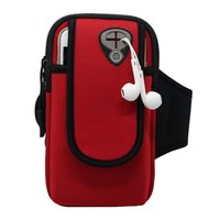 Wholesale baseball phone covers - Wholesale Waterproof Sweatproof Outdoor Running Armband Bag Shockproof Cover Case Mobile Phone Pouch for iPhone 5 5S SE 6 6S 7   7 plus
