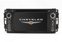 radio chrysler dvd al por mayor-2-Din Auto Radio GPS Navegación Coche Reproductor de DVD para Chrysler Sebring 300C con Navigator TV BT USB SD AUX Map Audio Video Stereo