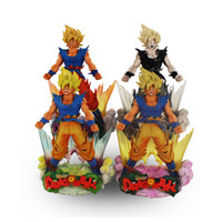 Wholesale Dragons Figurines - 24cm Styles Dragon Ball SonGoku MSP Super Saiyan PVC Figure Dragon Ball Z Action Figurine