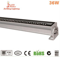 85-265v LED luz de la pared del lavado Epistal LED chip luz de la pared de lavado whit / naturaleza blanco / caliente temperatura de color blanco luz de la pared de lavado 10 unids / lote