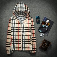 Wholesale Thin Plaid - Fall-2016 new summer sun protection clothing male Korean grid tide thin fashion summer coat sunscreen male and female sunscreen