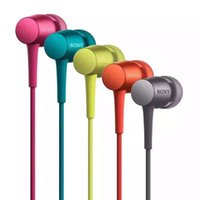 Wholesale Earphones For Iphone Remote - Sony EX750 Earphone In-ear Stereo Bass Headset Wired Headphone Handsfree Remote Mic Earbuds For iPhone Samsung Sony 3.5mm Jack DHL shipment