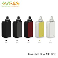 Wholesale Ego Ts - Authentic Joyetech eGo AIO Box Start Kit with 2ml Capacity & 2100mAh Built-in Battery All-In-ONE Style eGo AIO Box Kit VS Smoant Charon TS