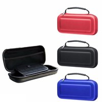 Wholesale Ems Switch Box - Black EVA Travel Carrying Hard Bag Box For Nintendo Switch NS NX Protective Pouch Storage Cover Case DHL FEDEX EMS FREE SHIPPING