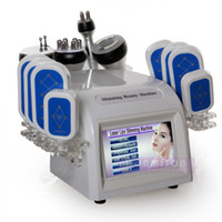 Wholesale Laser Fat System - 2017 Protable cavitation rf laser fat reduction kim 8 slimming system for body slimming face lifting fat removal home use CE Approved
