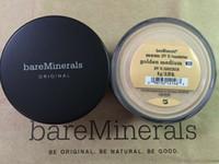 Wholesale Sun Tan Oils - 8g Shimmer bare makeup Minerals original Foundation fair C10  fairly light N10  fairly medium C20 Golden medium W20 golden tan W30 light W15