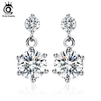 Wholesale New Elegant Rhinestone - New Arrival Earring,Elegant Austria Cryatal Earring,S925 Sterling Silver on Platinum Plated,SWA.Elements Jewelry OE34