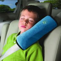 Wholesale Shoulder Belt Cushion For Kids - Baby Auto Pillow Car Safety Belt Protect Shoulder Pad adjust Vehicle Seat Cushion for Kids Baby Playpens