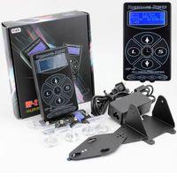 kasırga dövmesi tedarik toptan satış-Yeni Profesyonel Siyah HP-2 Hurricane Dövme Güç Kaynağı Dijital Çift LCD Ekran Dövme Güç Kaynağı Makineleri Ücretsiz Kargo