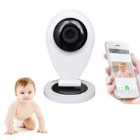 Wholesale Babysitter Camera - HD 720P Wireless Wifi Video Baby Monitor IP Camera Electronic Babysitter Nanny With Motion Detection Email Alarm Intercom
