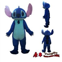 Wholesale Lilo Stitch Mascot - Custom animal mascot lilo stitch mascot costume stitch mascot costume lilo adult clothing