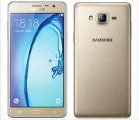 Wholesale Unlocked Mobile Phones 13mp - Original Samsung Galaxy On7 G6000 Mobile Phone 5.5''13MP Quad Core 1280x720 Dual SIM Smartphone 4G LTE Unlocked Mobile phone