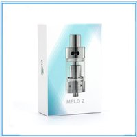 Wholesale Evic Atomizer Clearomizer - Ismoka Eleaf Melo 2 Atomizer 4.5ml Melo 2 Sub Ohm Tank Airflow Adjustable Clearomizer Best Match iStick 60W eVic Mini Nebox