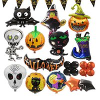 balloons for halloween decoration 100 latex orange black colors scary frightening pumpkin design celebrate with family friends uk