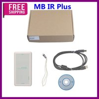 Wholesale Ir Programmer Mercedes Benz - Wholesale MB IR Plus Key Programmer For Mercedes Benz Before 2009 use on Windows XP System High Quality Free Shipping