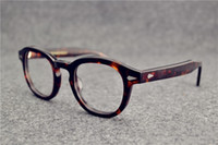 johnny óculos de sol venda por atacado-Armações de óculos de sol johnny depp prancha frame óculos de armação restaurar antigas formas oculos de grau homens e mulheres miopia armações de óculos