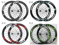Wholesale Carbon Rear Wheel Clincher - China Oem FFWD 50mm Carbon Road Wheels Wheelset Clincher Tubular Matte  glossy Bike Wheelset many colors