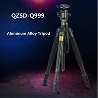 QZSD Q999 Trépied Portable pour SLR Camera Tripod Rotule Manfrotto changeable Gardant 18KG charge