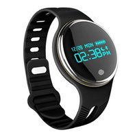 Smart Wristband E07 Resistente a la intemperie Fitness Fitness Tracker Bluetooth Sync Pulsera para Android y IOS Smart Watch