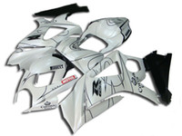 Wholesale Corona Motorcycles Gsxr - Motorcycle Fairing kit for SUZUKI GSXR1000 07 08 GSX-R GSXR 1000 K7 2007 2008 NEW Corona white black Fairings SET SK39
