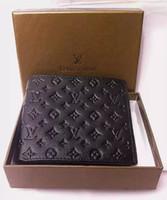 Wholesale Clip Wallets - Hot Designer LouisS brand VuittonS gucci01 wallet fashion folded money Clips luxury men money wallet men long purse money Clip