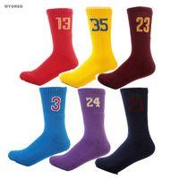 Wholesale Terry Towel Socks Men - Wholesale- colorful summer style men's NO.3 .24 .23 .21 .13 .30 35 Professional elite socks thick terry towel loop sock for men team games