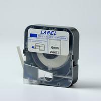 máquina de etiquetado de tubos al por mayor-Etiqueta de etiqueta Max compatible de 5 mm blanca LM-TP305W Para máquina de marcado de tubos (LM-370A LM-370E LM-380A LM-380E LM-390A)