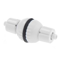Ressorts de soupape Prix-Aquarium Check Valve pour le CO2 Bubble contre Air Pump Spring arrêt Fish Tank Blanc