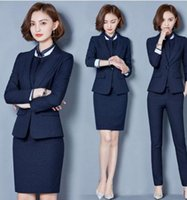 Wholesale Flat Companies - Professional suit women in the new autumn winter, the new insurance company dress workers dress business suits women