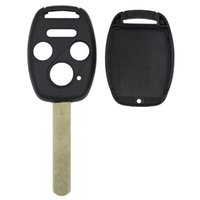 3 + 1Buttons Remplacement Keyless Remote Fix Fob Key Shell Case Key pour HONDA Uncut blade Without Chip 4BTNS
