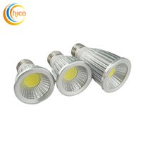 Wholesale Super Bright Led Light 3w - Super Bright Led Bulb Lights COB 3W 5W 7W MR16 E27 GU10 GU5.3 Led Spot Light Lamp 85-265V 12V