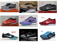 Wholesale Photo Running - 2016 Racer Wholesale Sneaker Men's Running Sport Shoes MULTI-COLOR OREO PINK FLASH TURQUOISE BLUE LAGOON PHOTO BLUE US Size7-11