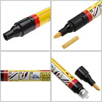 stylos de peinture pour les rayures de voiture achat en gros de-Fix it Pro Stylo de réparation des rayures de peinture Stylo-applicateur universel pour manteaux Portable non toxique pour l'environnement Suppression en toute sécurité des rayures de la surface de la voiture